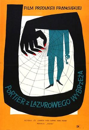 L'homme aux clefs d'or - Polish Movie Poster (thumbnail)