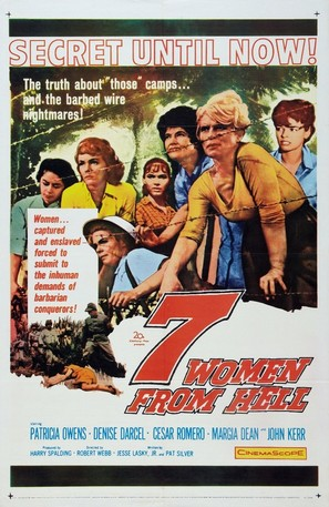 The Seven Women from Hell - Movie Poster (thumbnail)