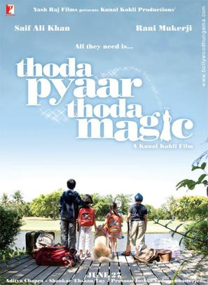 Thoda Pyaar Thoda Magic - Indian Movie Poster (thumbnail)