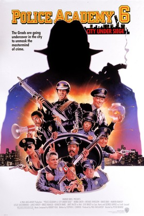 Police Academy 6: City Under Siege - Movie Poster (thumbnail)