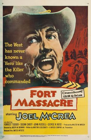Fort Massacre - Movie Poster (thumbnail)