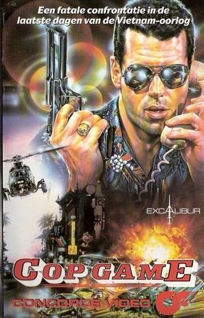 Cop Game - Dutch VHS movie cover (thumbnail)