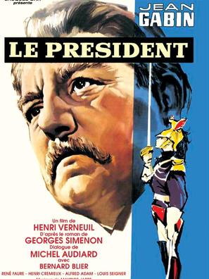 Le président - French Movie Poster (thumbnail)