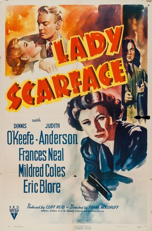 Lady Scarface - Movie Poster (thumbnail)