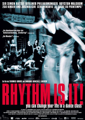 Rhythm Is It! - German Movie Poster (thumbnail)