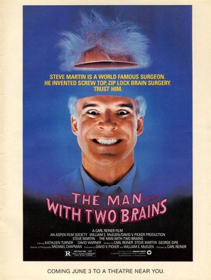 The Man with Two Brains - Movie Poster (thumbnail)