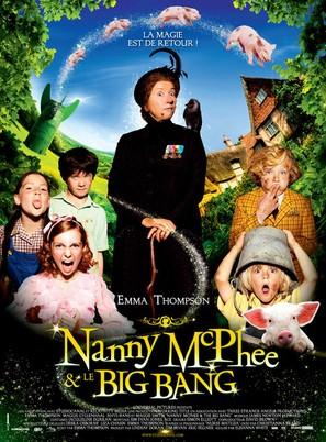 Nanny McPhee and the Big Bang - French Movie Poster (thumbnail)