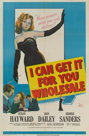 I Can Get It for You Wholesale - Movie Poster (thumbnail)