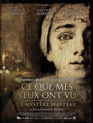 Ce que mes yeux ont vu - French Movie Poster (thumbnail)