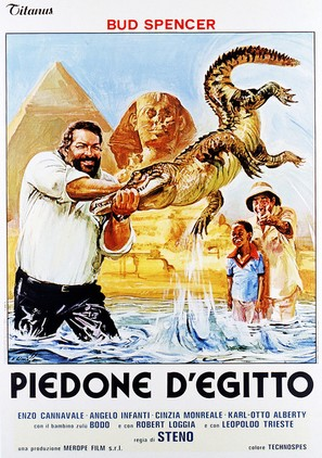 Piedone d'Egitto - Italian Movie Poster (thumbnail)