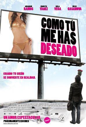 Como tú me has deseado - Mexican Movie Poster (thumbnail)