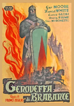 Genoveffa di Brabante - Italian Movie Poster (thumbnail)