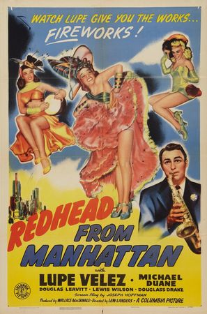 Redhead from Manhattan - Movie Poster (thumbnail)