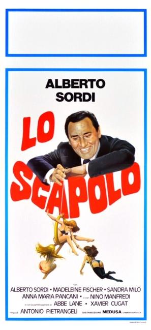 Scapolo, Lo - Italian Movie Poster (thumbnail)