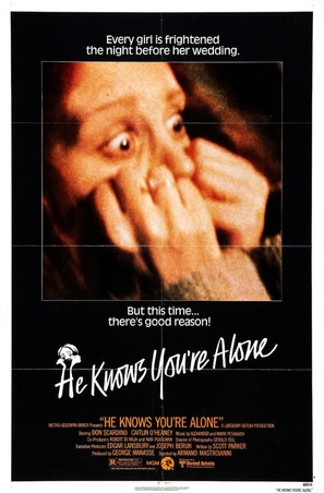 He Knows You're Alone - Movie Poster (thumbnail)