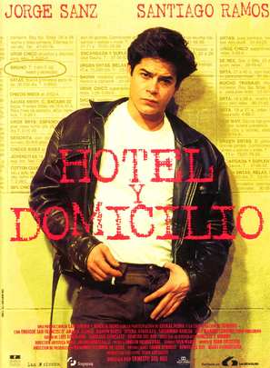 Hotel y domicilio - Spanish poster (thumbnail)