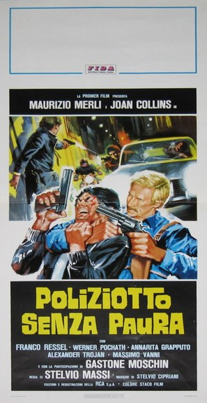 Poliziotto senza paura - Italian Movie Poster (thumbnail)