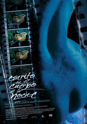 Escrito en el cuerpo de la noche - Mexican Movie Poster (thumbnail)