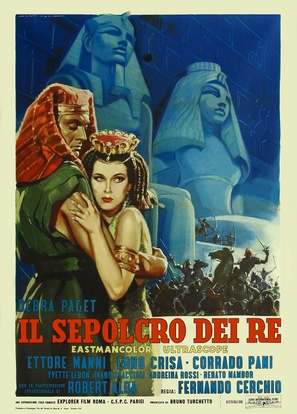 Il sepolcro dei re - Italian Movie Poster (thumbnail)