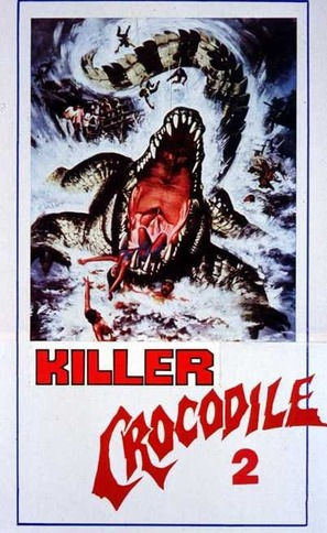 Killer Crocodile II - Italian Movie Poster (thumbnail)