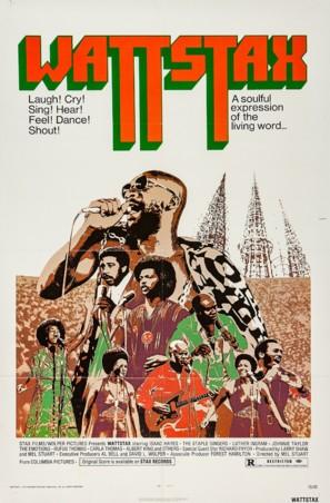 Wattstax - Movie Poster (thumbnail)
