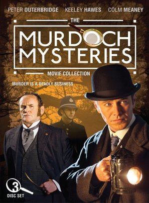 """The Murdoch Mysteries"" - Canadian DVD movie cover (thumbnail)"