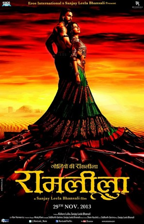 Ram Leela - Indian Movie Poster (thumbnail)