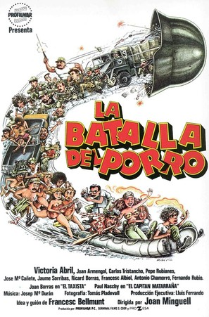 La batalla del porro - Spanish Movie Poster (thumbnail)