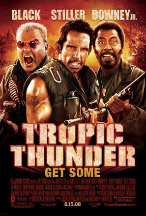 Tropic Thunder - Movie Poster (thumbnail)