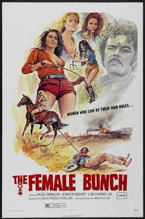 The Female Bunch - Theatrical poster (thumbnail)