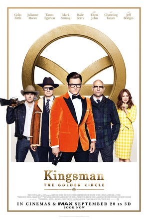 Kingsman: The Golden Circle - British Movie Poster (thumbnail)