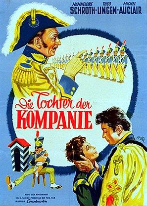 Die Tochter der Kompanie - German Movie Poster (thumbnail)