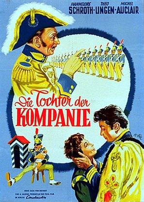 Die Tochter der Kompanie - German Movie Poster (thumbnail)
