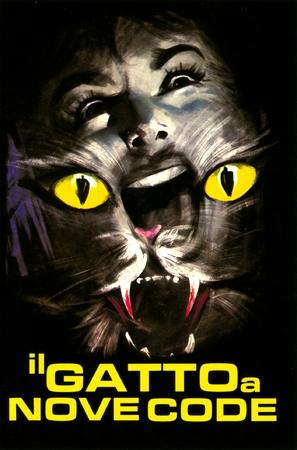Il gatto a nove code - Italian Movie Poster (thumbnail)