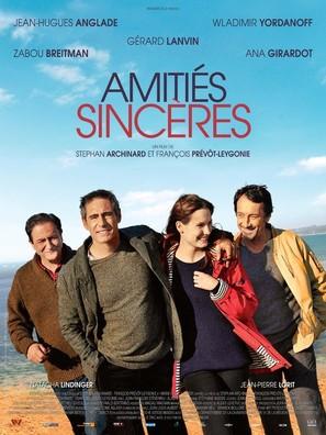 Amitiés sincères - French Movie Poster (thumbnail)