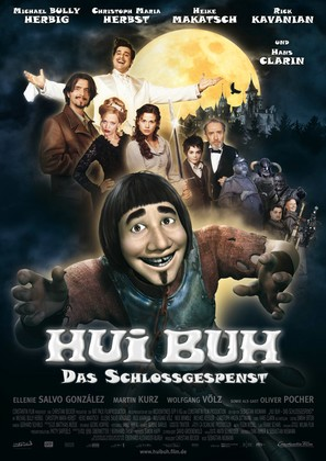 Hui Buh - Das Schlossgespenst - German Movie Poster (thumbnail)