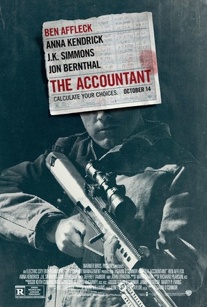 The Accountant - Movie Poster (thumbnail)