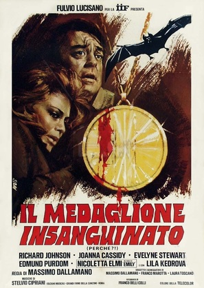 Il medaglione insanguinato - Italian Movie Poster (thumbnail)