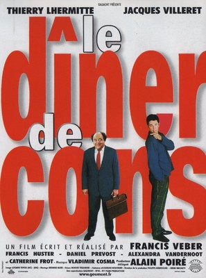 Le dîner de cons - French Movie Poster (thumbnail)