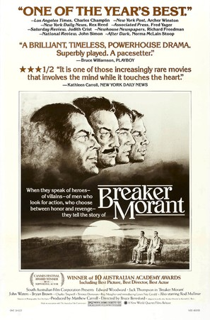 'Breaker' Morant - Movie Poster (thumbnail)