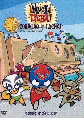 """¡Mucha Lucha!"" - Brazilian poster (thumbnail)"