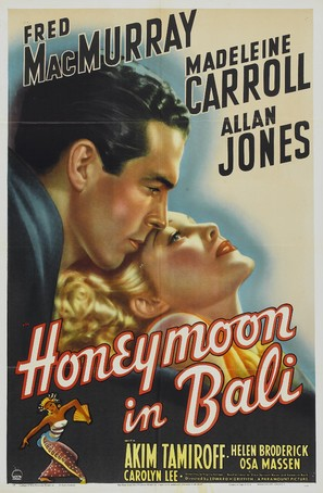 Honeymoon in Bali - Movie Poster (thumbnail)