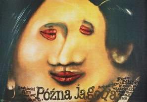 Pozdnyaya yagoda - Polish Movie Poster (thumbnail)