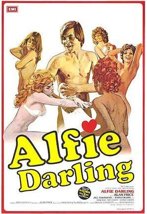 Alfie Darling - British Movie Poster (thumbnail)