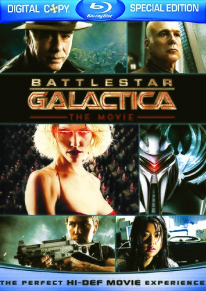 Battlestar Galactica: The Plan - Blu-Ray movie cover (thumbnail)