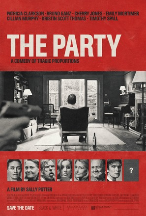 The Party - British Movie Poster (thumbnail)