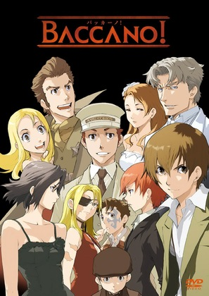 """Baccano!"" - DVD movie cover (thumbnail)"