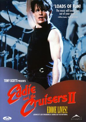Eddie and the Cruisers II: Eddie Lives! - Canadian DVD cover (thumbnail)