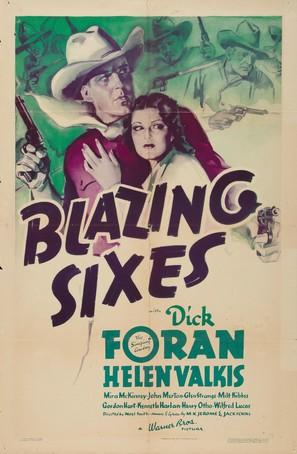 Blazing Sixes - Movie Poster (thumbnail)