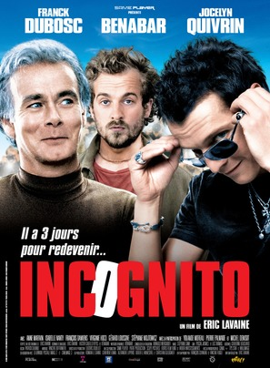 Incognito - French Movie Poster (thumbnail)